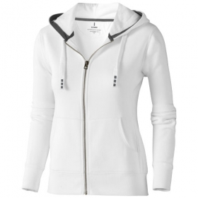 Arora hooded full zip ladies sweater | 3821201