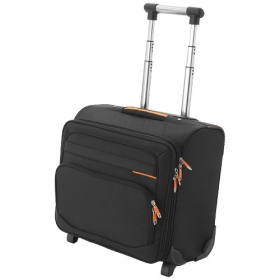Orange line business bag on wheels | 11922900