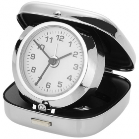 Pop-up alarm clock with pouch | 19733618