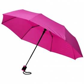 "21"" 3-section auto open umbrella 
