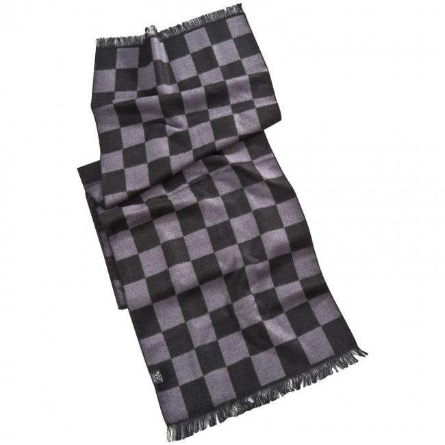 Eșarfă cu design de șah | 7337303