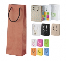 custom made paper shopping bag, wine | AP718104