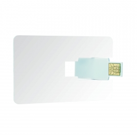 Credit card USB 2.0 4 GB | 09636.10