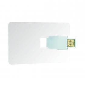 Credit card USB 2.0 8 GB | 09637.10
