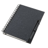 Coloured eco notebook with pen; cod produs : 13186.30