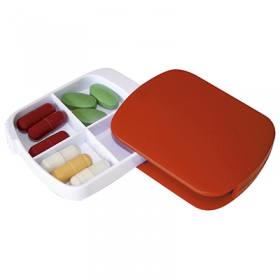 4 Compartments sliding pill box | 60020.20