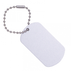Aluminium keytag | 61112.01