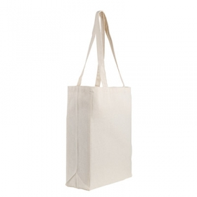 Gusseted cotton tote | 74160.00