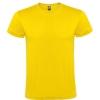 Tricou cu mânecă scurtă, guler rotund dublu. Cu bandă întărită pentru acoperirea cusăturii la guler și umeri, fără cusături.; cod produs : 6424_03