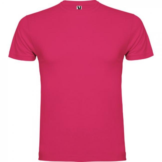 Tricou unisex cu mânecă  dublă. Guler rotund cu două straturi. Material tubular (fără cusături) pentru adulti şi cu cusături pentru copii.    6556_78