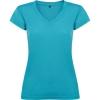 Tricou cu mânecă scurtă damă cu anchior și finisaj cu garnitură canelată. Croială cambrată și cu cusături laterale.; cod produs : 6646_12