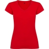 Tricou cu mânecă scurtă damă cu anchior și finisaj cu garnitură canelată. Croială cambrată și cu cusături laterale.; cod produs : 6646_60