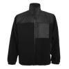 Jachetă pentru lucru cu fermoar întreg, din material combinat, antipilling, cu trei buzunare cu fermoar. Întărituri pe antebrațe, față și spate cu poliester tafta. Manșete cu elastic și talie reglabilă.; cod produs : 9103_02