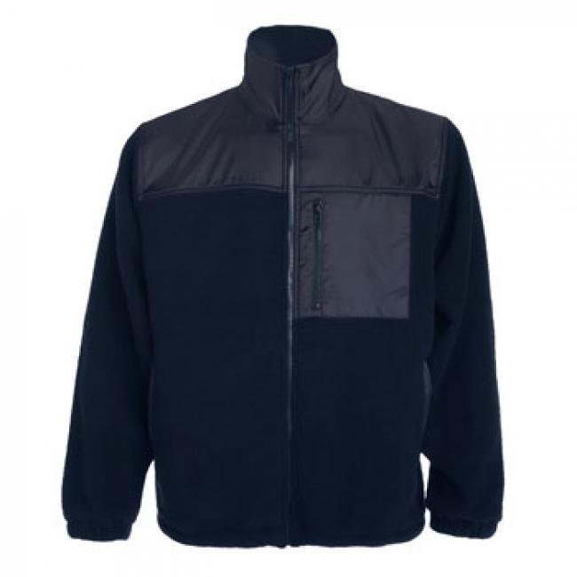 Jachetă pentru lucru cu fermoar întreg, din material combinat, antipilling, cu trei buzunare cu fermoar. Întărituri pe antebrațe, față și spate cu poliester tafta. Manșete cu elastic și talie reglabilă. | 9103_55