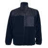 Jachetă pentru lucru cu fermoar întreg, din material combinat, antipilling, cu trei buzunare cu fermoar. Întărituri pe antebrațe, față și spate cu poliester tafta. Manșete cu elastic și talie reglabilă.; cod produs : 9103_55