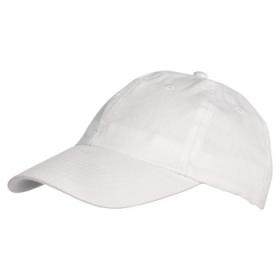 Șapcă în 6 clini. 6 găuri de ventilație brodate de aceeași culoare. 6 cusături pe cozoroc. Bandă interioară pentru excesul de transpirație. Sistem de închidere metalic. | 7031_01