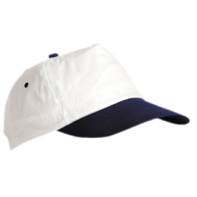 Șapcă în 5 clini cu cozoroc din material combinat. 2 găuri de ventilație brodate în contrast. 4 cusături pe cozoroc. Bandă interioară pentru excesul de transpirație. Sistem de închidere cu arici. | 7016_B1