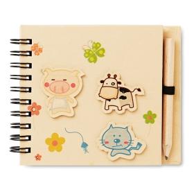 Carnet cu 70 pagini și creion  MO8665-13 | MO8665-13