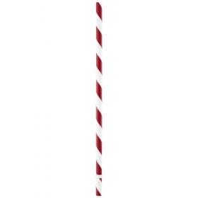Candy straw - red/white | 10038500