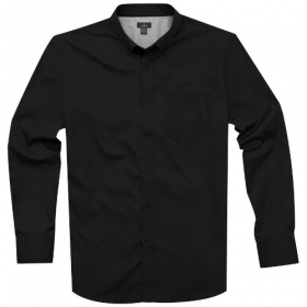 Wilshire ls Shirt,Black,L | 3817299