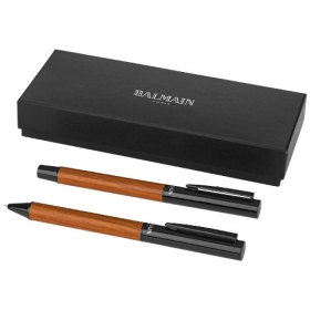 Woodgrain Duo Pen Set | 10688300