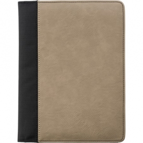 A5 Pad folio with PU cover, Brown | 7230-11