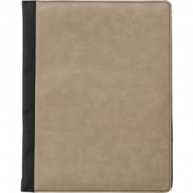 A4 Pad folio with PU cover, Brown | 7231-11