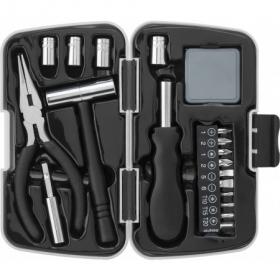 26pcs aluminium and metal toolset, Light grey   7159-27