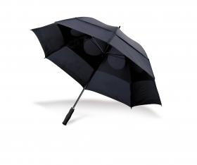 Umbrelă anti-furtună, cu mâner din spumă, neagră | 4089-01