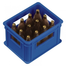 Bottle opener in the shape of a beer crate   8083704